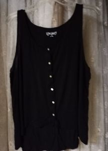 Button- Up Tank Top
